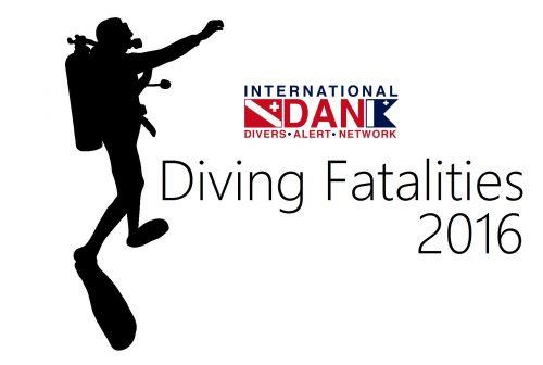 【Report】2016年ダイビング事故死亡者数統計